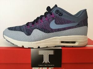 new concept 17406 b25c1 Image is loading Nike-Air-Max-1-Ultra-Flyknit-859517-400-