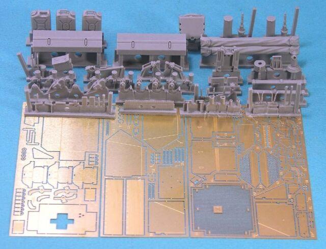 Legend 1285 1/35 Leopard C2 MEXAS Update/Detailing Set for Takom