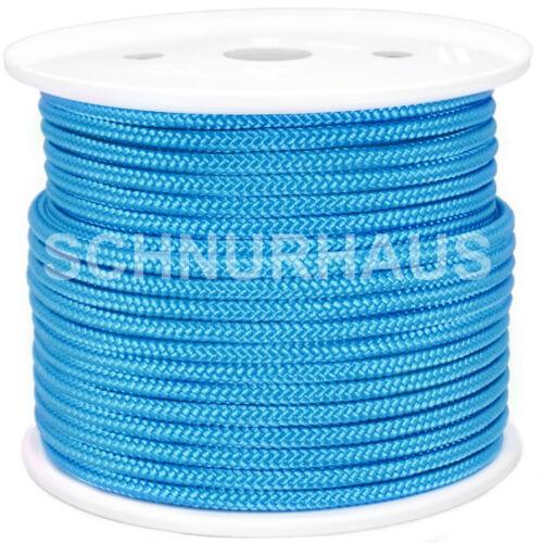 10mm 1500daN Polypropylenseil 50m hellblau Schnurhaus Schnur Schot Reepschnur