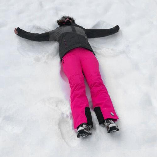 Bambini tuta Neve Tg 176 SKIANZUG funzionali Giacca Sci Antracite Yorkton Rosa
