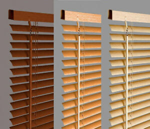 New-Wood-Wooden-Grain-Effect-PVC-Venetian-Blind-Blinds-Easy-Fit-10-Sizes