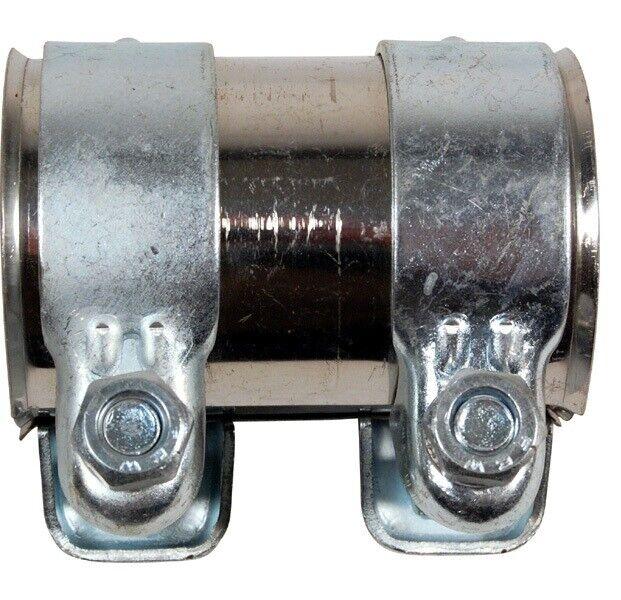 Rohrverbinder Doppelschelle Auspuff Abgasanlage Ø 56 mm x Länge 95 mm