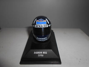 CASCO-HELMET-D-HILL-1996-MINICHAMPS-1-8-NOT-BOX-LOOK-PICTURE