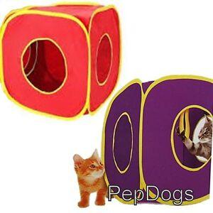 2-Pk-SportPet-Pop-Open-Kitty-Cat-Play-Cube-Sport-Pet-Pop-Out-Hide-Toy-Expandable