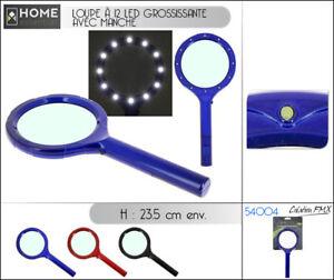 Éclairante 12 2 Agrandissement X Sur Loupe 5 Avec Détails Maxi Lampe Lecture Led TJlFK1c