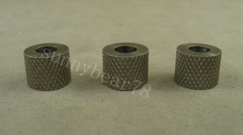 3pcs petite taille en acier inoxydable Parachute Cordon Couteau Tool Lanyard Bead LB072