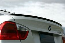 BMW E90 3 Series ABS Euro Rear Trunk Boot Spoiler Lip Wing Sport Trim Lid M M3 -
