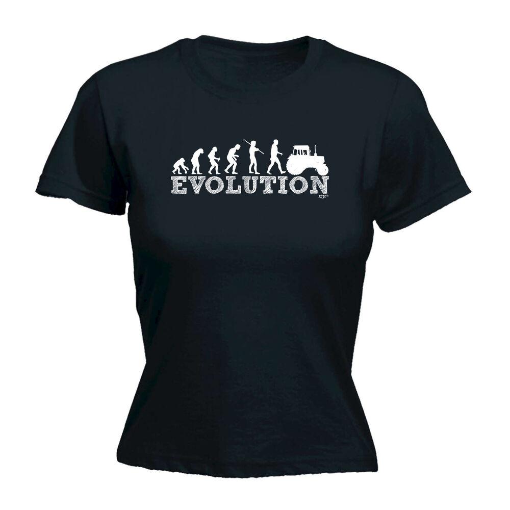 Brillant Drôle Nouveauté Tops T-shirt Femme Tee Tshirt-evo Tracteur Bon Pour AntipyréTique Et Sucette De La Gorge