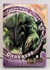 Kaijudo Civilization deck Darkness