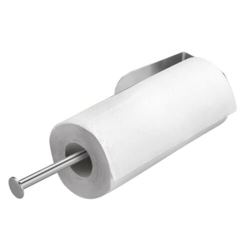 Paper Towel Holder Under Cabinet Wall Mount Stainless Steel Rack Kitchen Home US