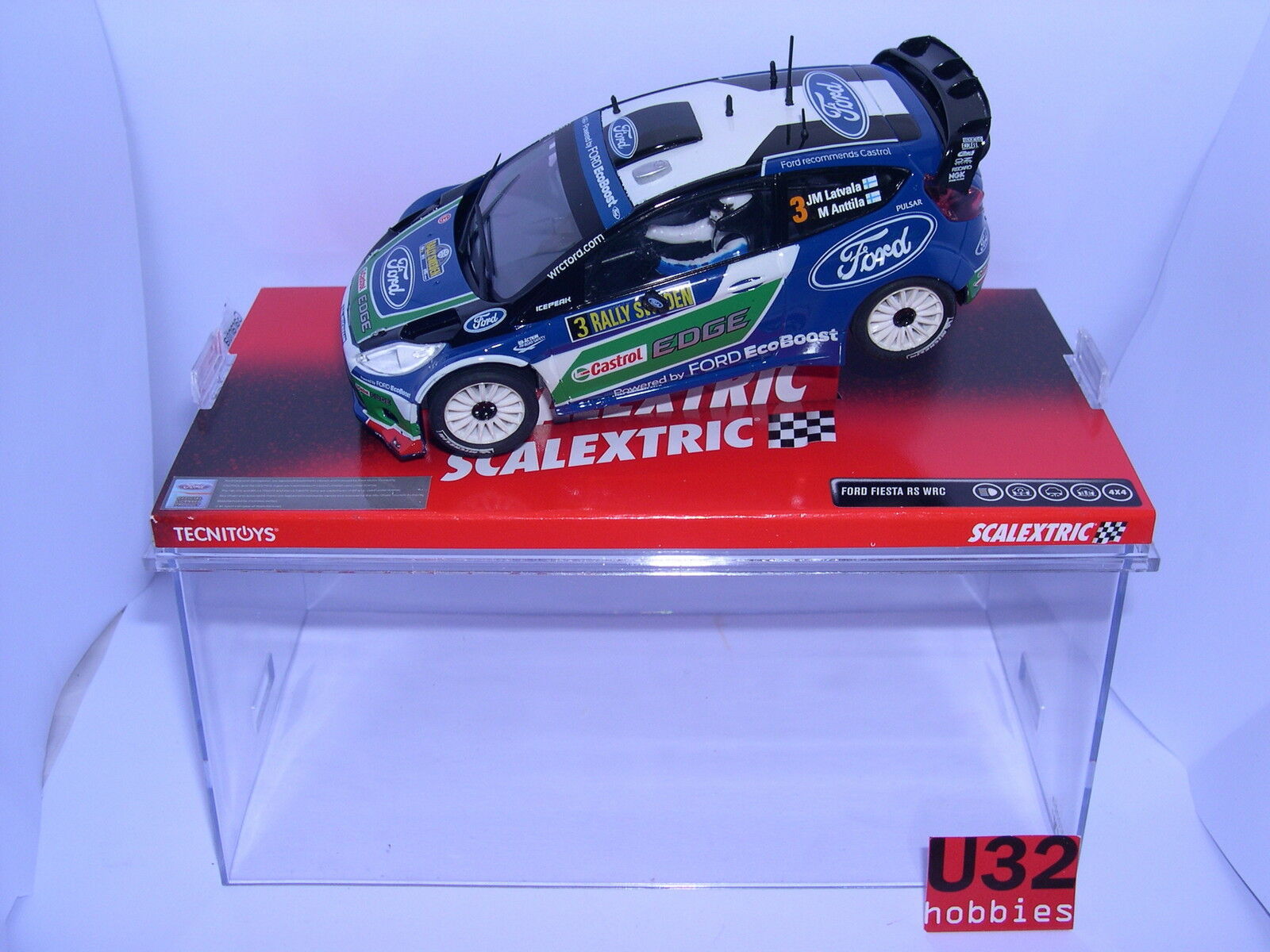 SCALEXTRIC A10092S300 FORD PARTY WRC M.LATVALA-M.ANTILA MB