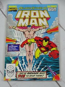 IRON-MAN-ANNUAL-1970-Series-10-Comics-Book-Bagged-and-Boarded-C2016