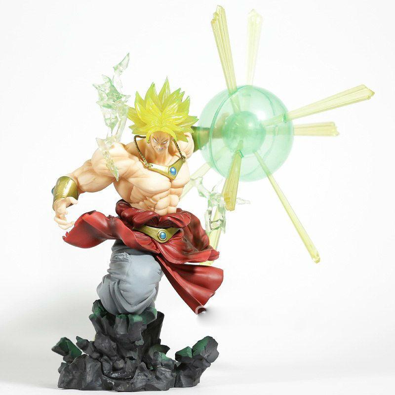 DRAGON BALL SUPER - BROLY Burning Battle SSJ  figura acción diorama 16 cm.