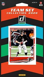 2020-Panini-Football-Atlanta-Falcons-Team-Set-8-Cards-Matt-Ryan-Julio-Jones