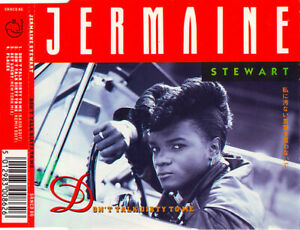 Jermaine-Stewart-Maxi-CD-Don-039-t-Talk-Dirty-To-Me-UK-EX-VG