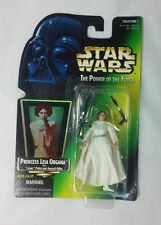"Star Wars POTF 1997 Princess Leia Organa with ""Laser"" Pistol and Assault Rifle"