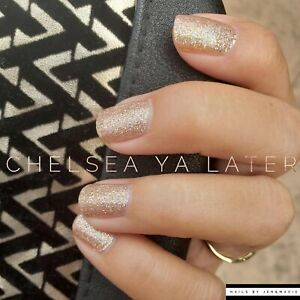 Color Street Nail Strips Chelsea You Later Ebay