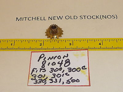 1 New Old Stock GARICA MITCHELL 300 301 FISHING REEL PINION GEAR NOS 81048