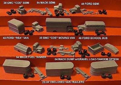 """RRR//FNS 8 VEHICLES RICO/'S /""""SUPER TRUCK PACK 1/"""" N SCALE"""