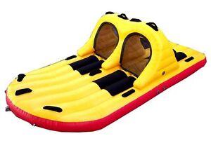 JobeTube Heavy Glider 4 Per. Insel Towable Tube Wassersport Motorboot Boot T99