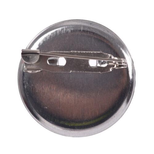 20 Pcs//Set Hot Brooch Tray DIY Accessory Plated Ni Blank Brooch Bezel newest ZN