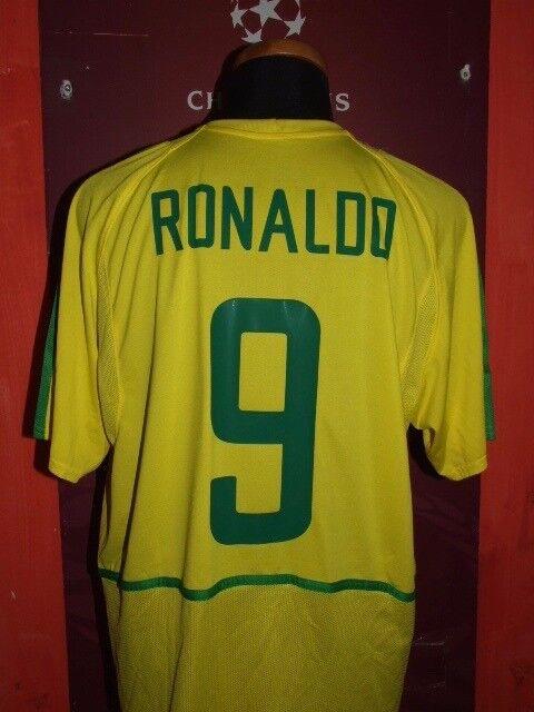 RONALDO BRAZIL 2003 MAGLIA SHIRT FOOTBALL CALCIO FOOTBALL SHIRT MAILLOT JERSEY CAMISETA 10138d