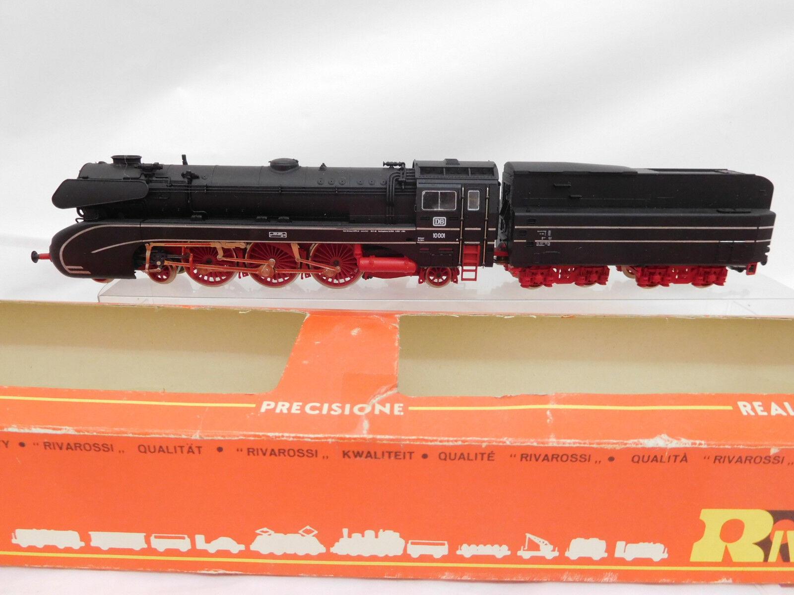 Eso-7346 Rivarossi 1339 H0 Dampflok DB 10 001,ein Haftreifen fehlt  | Modern Und Elegant In Der Mode