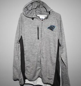NFL-Carolina-Panthers-Full-Zip-Hoodie-New-Mens-Sizes-MSRP-80