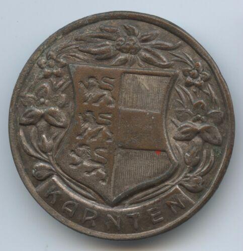 A484 - Tolles altes Abzeichen Kärnten Wappen Brosche Anstecker