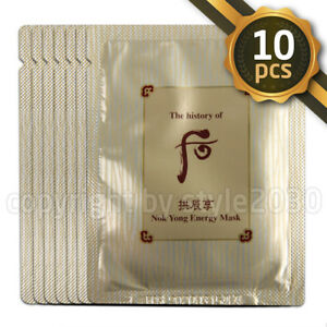 The-History-of-Whoo-Nok-Yong-Energy-Mask-10pcs-Nok-Yong-Pack-New-version