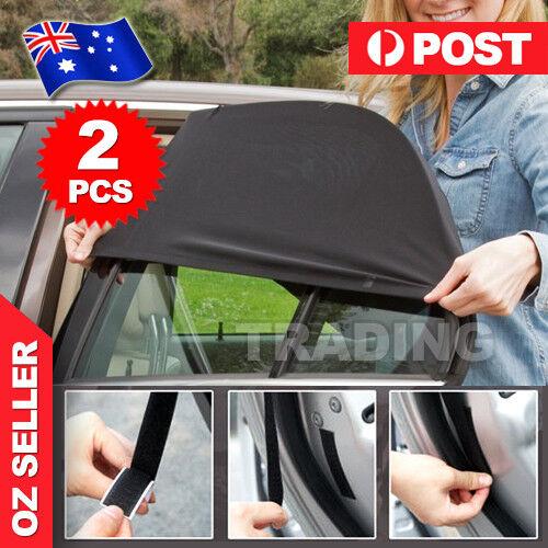 490c502c1d6 2x Universal Sun Shades Rear Side Seat Car Window Socks Baby Kids Protect  AU for sale online