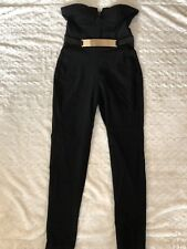 dfa1a12b01 item 1 Junior s MATERIAL GIRL Black Strapless Sexy Jumpsuit w Gold Belt  Accent Size S -Junior s MATERIAL GIRL Black Strapless Sexy Jumpsuit w Gold  Belt ...