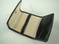 RARE *New* Leather Montblanc Travel Cufflink Holder            B1B2A1