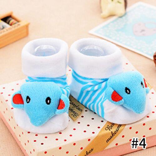 Baby Socks Toddler Soft Sole Infant Warm Socks Cartoon Hosiery Non-slip Footwear