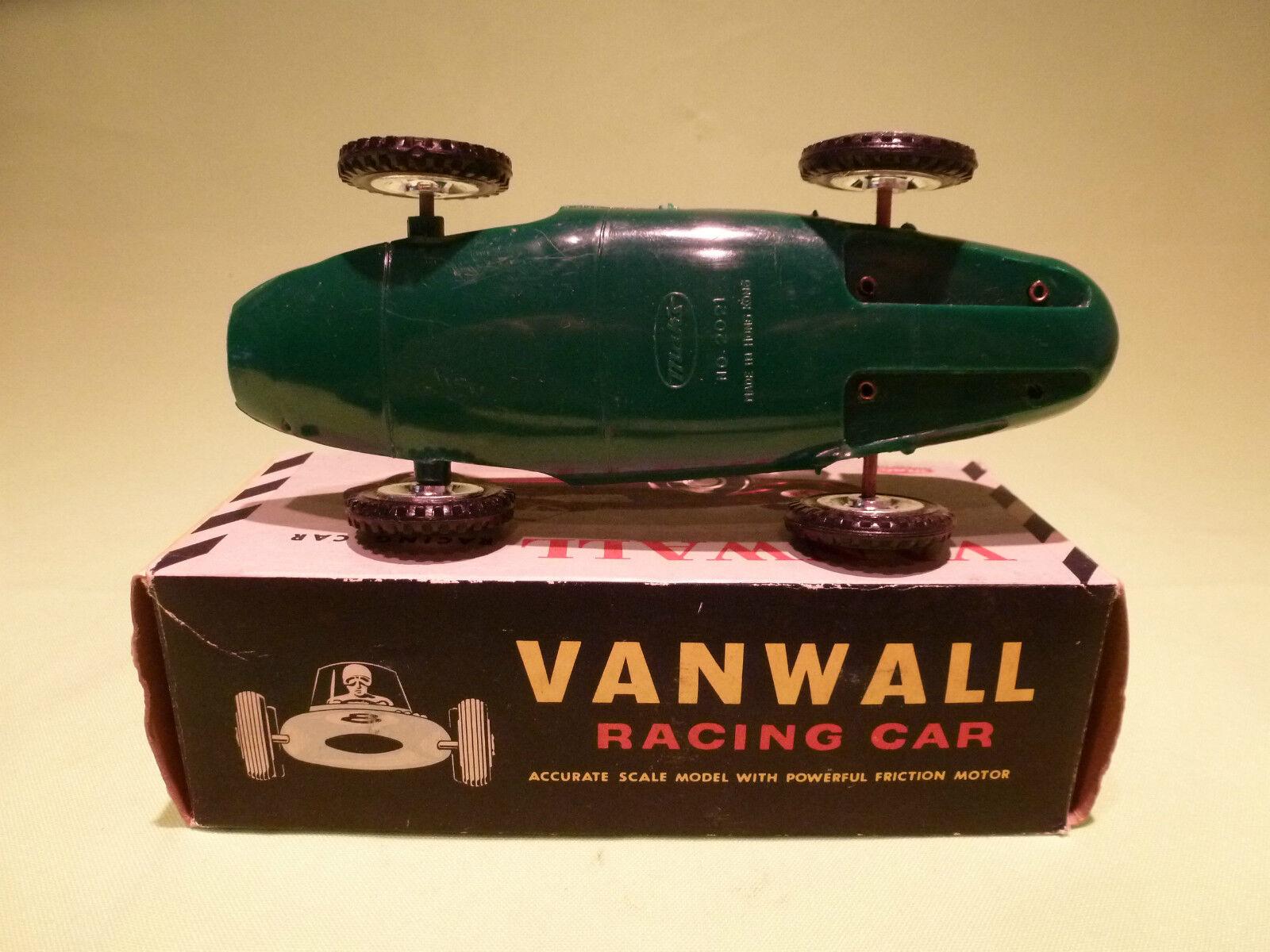 MAK'S 2021 MADE IN HONKONG VANWALL - RACING CAR - - - RARE SELTEN VERY GOOD IN BOX 9c9c77