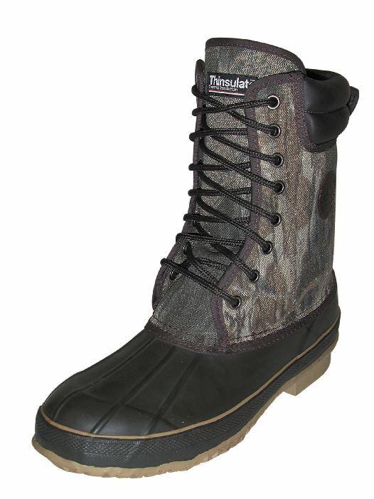 Proline C39BU-11 Mens 10 1 2  Rubber Cordura Hunting Boots Camo Size 11 15946