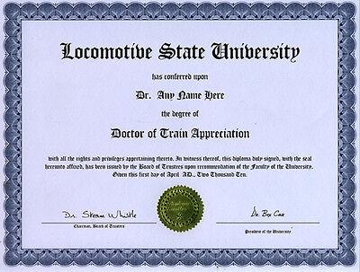 Doctor Antique Model Ship Appreciation Novelty Diploma
