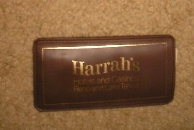 Vintage Harrah's Hotels Casinos Reno Lake Tahoe Sewing Kit Needles Thread Japan