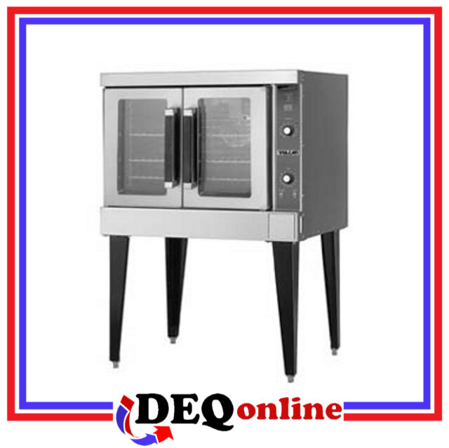 Vulcan VC4ED Single Deck Electric Convection Oven Stainless Steel 208V or 240V