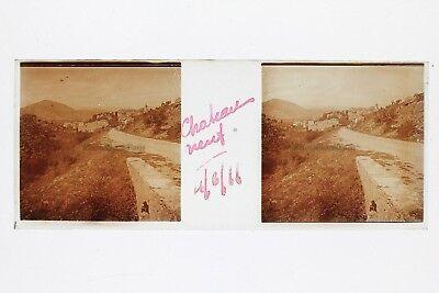 Châteauneuf Frankreichfoto Platte Gläser Positiven Stereo 1911 üBereinstimmung In Farbe