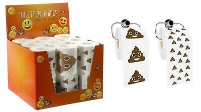 Toilettenpapier Poop Emoticon Kackhaufen Kacke Scheiße Klopapier Scherzartikel