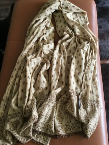 8 Damenschals Schal Halstuch Blau Weiß Gelb Pink Braun Orange Schwarz Olivegrün