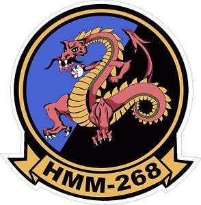 USMC-Marine-Corps-HMM-268-Decal-Sticker