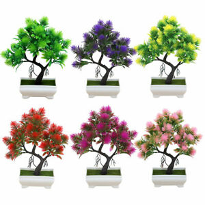 Am-FP-1Pc-Potted-Artificial-Flower-Pine-Tree-Bonsai-Stage-Garden-Party-Decor-S