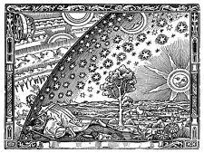 PAINTING SPACE MEDIEVAL COSMOLOGY HACHETTE UNIVERSE LARGE ART PRINT LF989