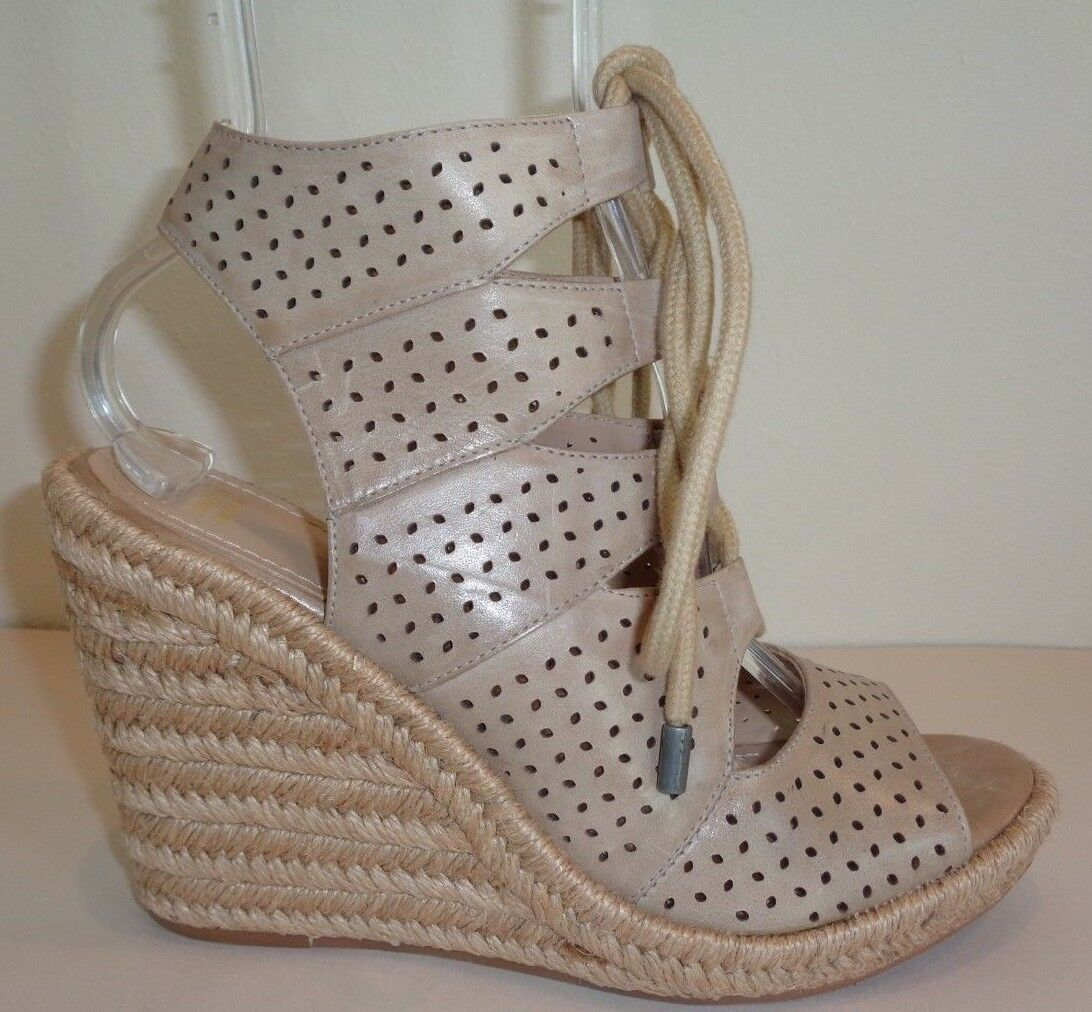 Johnston & Murphy Size 9.5 M MANDY Cloud Waxy Leather Sandals New Womens shoes