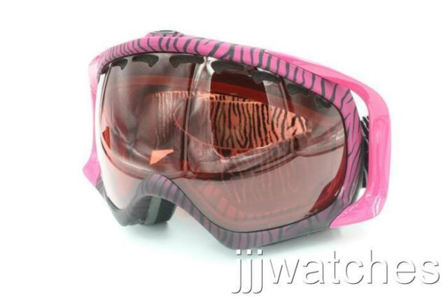 95d1f2d760b New Oakley Crowbar PRIZM Snow Rose Lens White Goggles OO7005N-33  170
