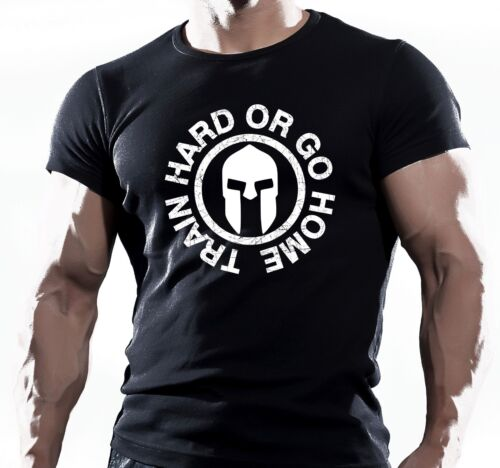 MENS GYM BODYBUILDING MOTIVATION T-Shirt MMA WORKOUT CLOTHING TRAINING TOP UFC