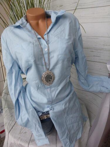 Ziergürtel NEU 40-56 Blau Ton 274 Sheego Long Bluse Shirt Langarm Gr