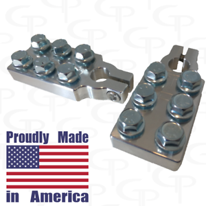 SAE-6-SPOT-BATTERY-TERMINALS-GP-CAR-AUDIO-TOP-POST-HEAVY-DUTY-MADE-IN-USA